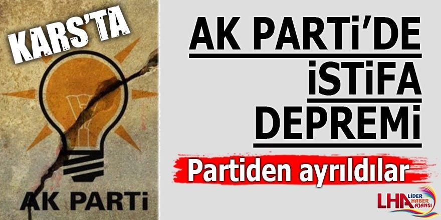 AK Partiden İstifa Edip Saadet Partisine Geçtiler
