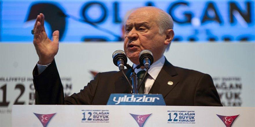 MHP Lideri Bahçeli'den 'güvenli bölge' değerlendirmesi