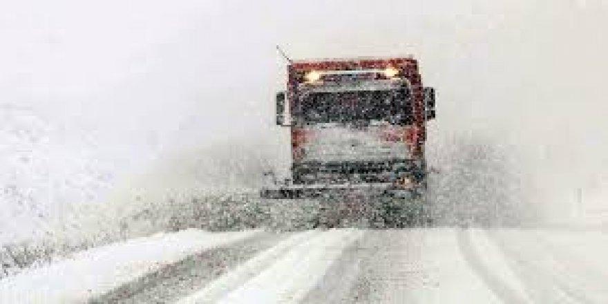 Doğu Anadolu'da 848 köy ve mahalle yolu ulaşıma kapalı