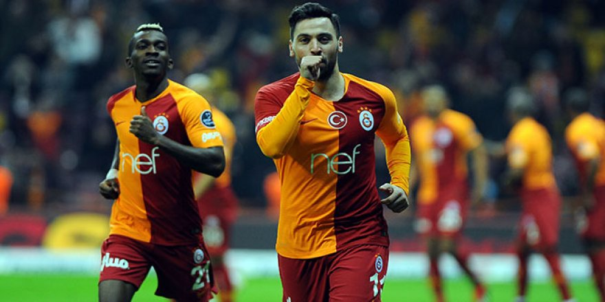 Galatasaray, Ankaragücü'nü 6 golle geçti