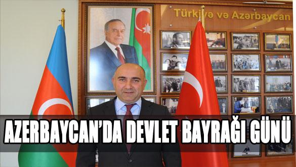 Azerbaycan'da Devlet Bayrağı Günü