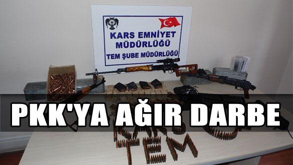 Kars'ta PKK Terör Örgütüne Ağır Darbe
