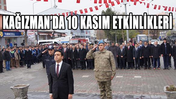 Kağızman'da 10 Kasım Etkinlikleri