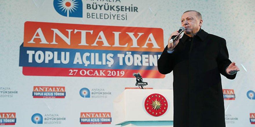 Cumhurbaşkanı Erdoğan: 'Yanlış yaparlarsa oradayız'