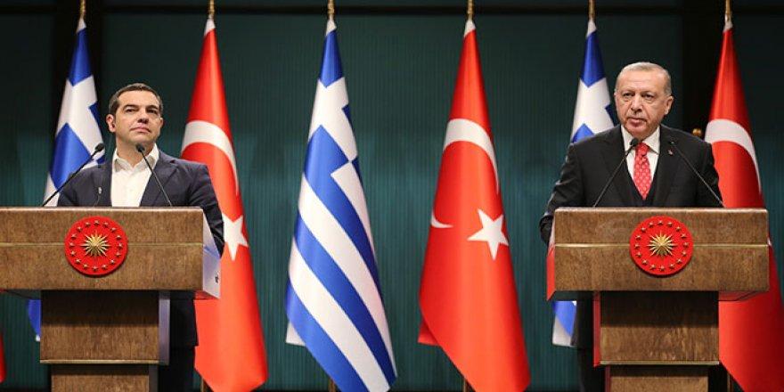 Cumhurbaşkanı Erdoğan ve Çipras'tan önemli açıklamalar