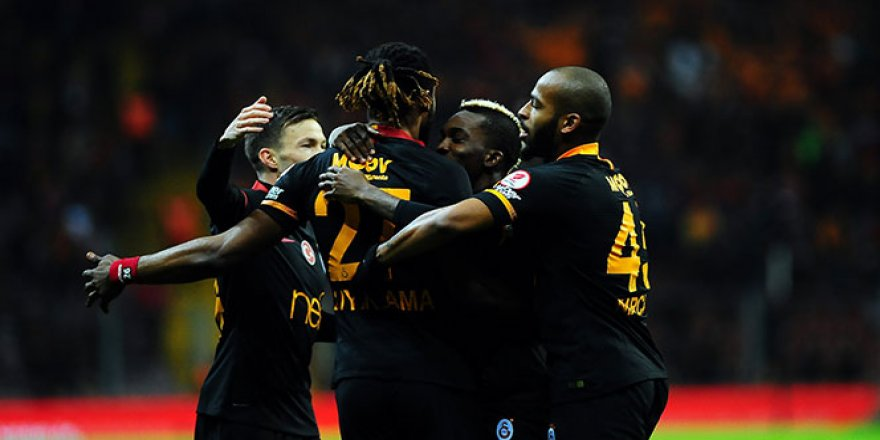 Galatasaray, kupada iki golle kazandı