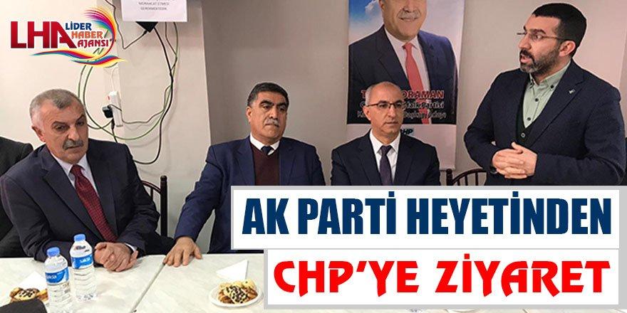 AK Parti Heyetinden CHP'ye Ziyaret