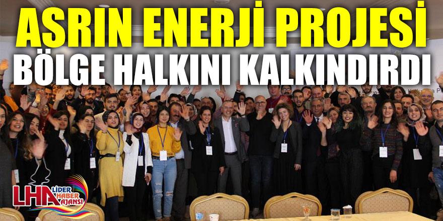 ASRIN ENERJİ PROJESİ BÖLGE HALKINI KALKINDIRDI