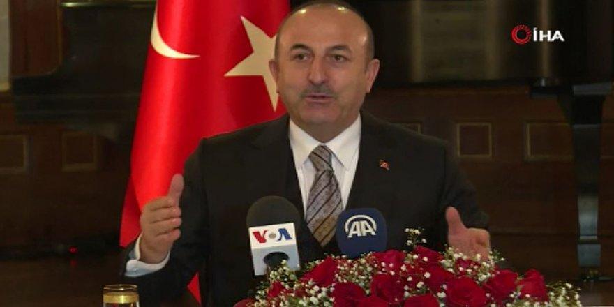 Bakan Çavuşoğlu'ndan ABD temasları: Münbiç'teki süreç hızlandı