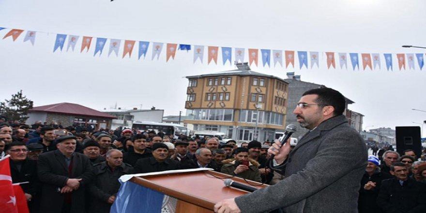 AK Parti Selim SKM Açıldı