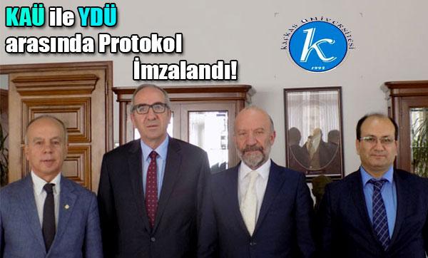 KAÜ ile YDÜ arasında Protokol İmzalandı!