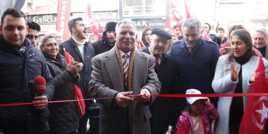 Vatan Partisi Seçim Koordinasyon Merkezi Açıldı