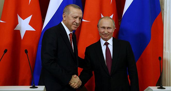 Cumhurbaşkanı Erdoğan Putin görüşmesi sona erdi