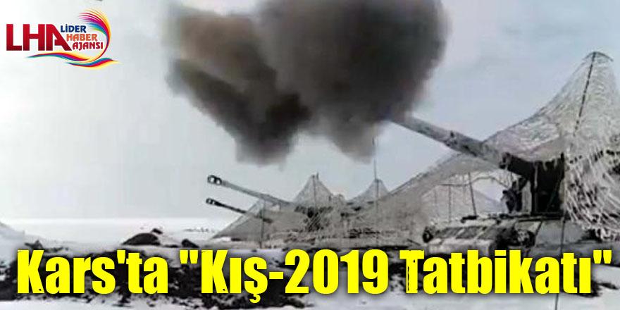 "Kars'ta ""Kış-2019 Tatbikatı"""