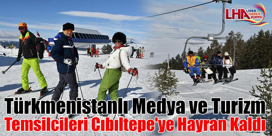 Türkmenistanlı medya ve turizm temsilcileri Cıbıltepe'ye hayran kaldı