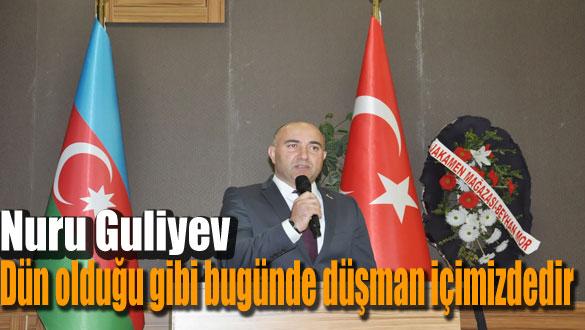 Azerbaycan Kars Başkonsolosu Nuru Guliyev Öğretmenlerle Buluştu