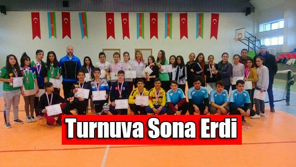 Okullar Arası Tenis Turnuvası Sona Erdi