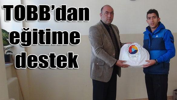 Türkiye Odalar ve Borsalar Birliği'nden eğitime destek