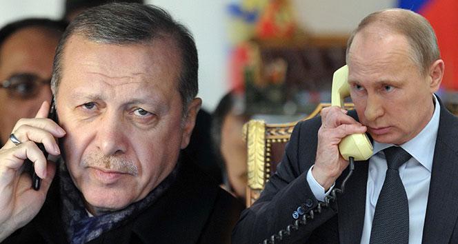 Putin Cumhurbaşkanı Erdoğan'ın doğum gününü kutladı