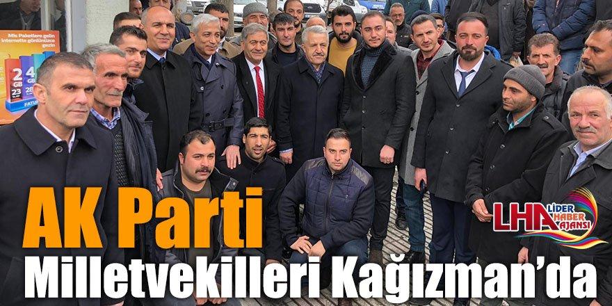 AK Parti Milletvekilleri Kağızman'da