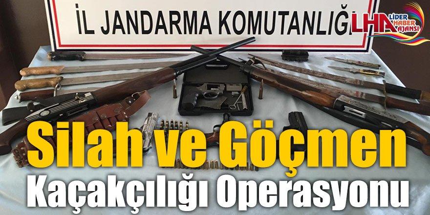 Silah ve Göçmen Kaçakçılığı Operasyonu