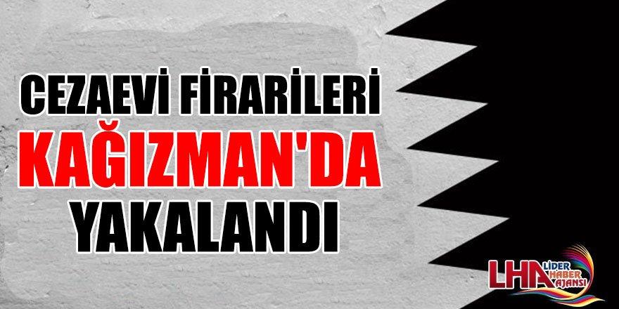 Cezaevi Firarileri Kağızman'da Yakalandı