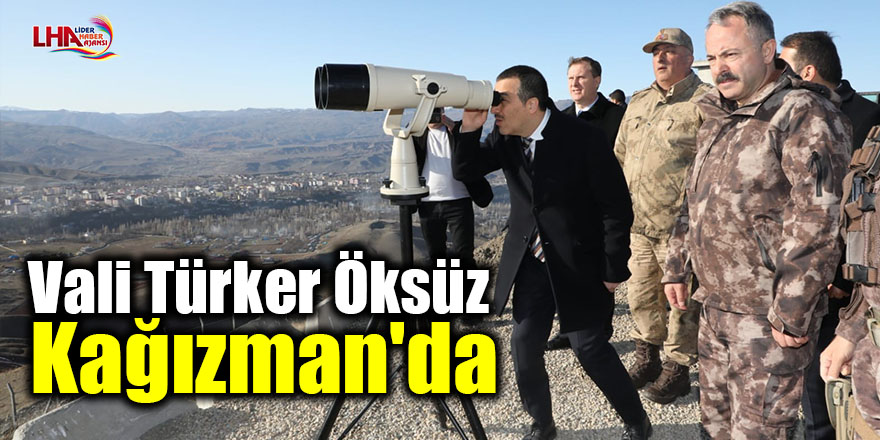 Vali Türker Öksüz Kağızman'da