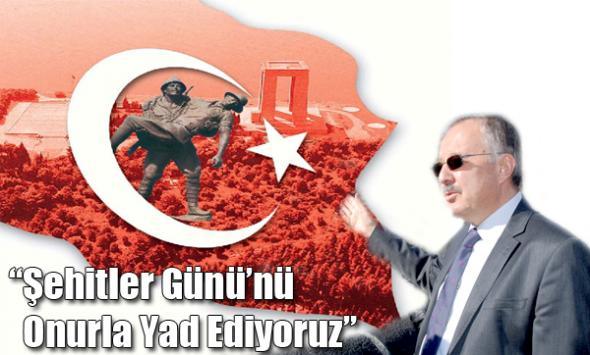 Kars Valisi Günay Özdemir'in 18 Mart Mesajı