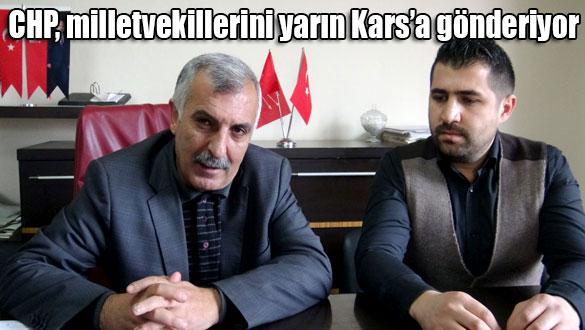 CHP, milletvekillerini yarın Kars'a gönderiyor