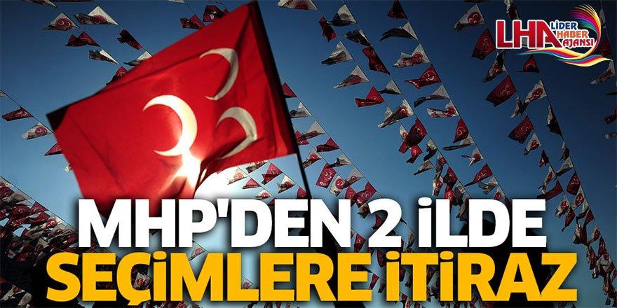 MHP'den Kars Ve Iğdır'da Seçimlere İtiraz