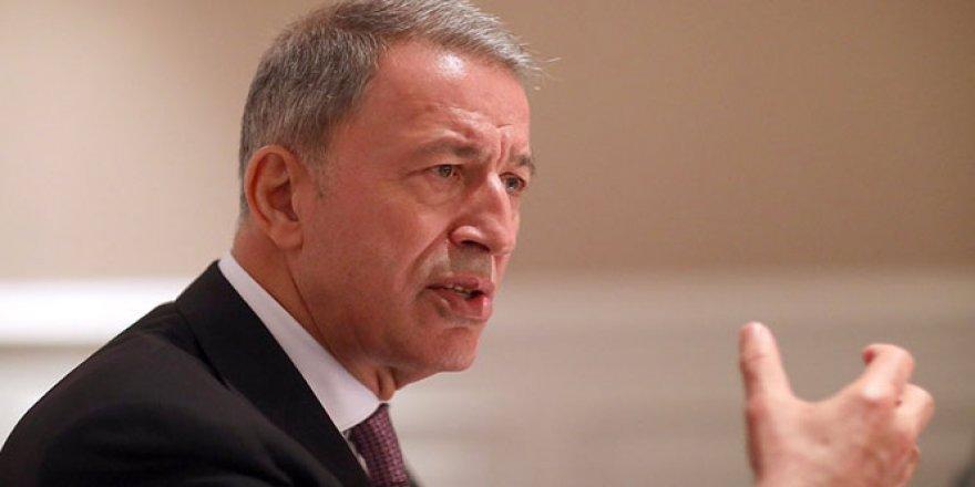 Bakan Akar: 'PKK eşittir YPG'