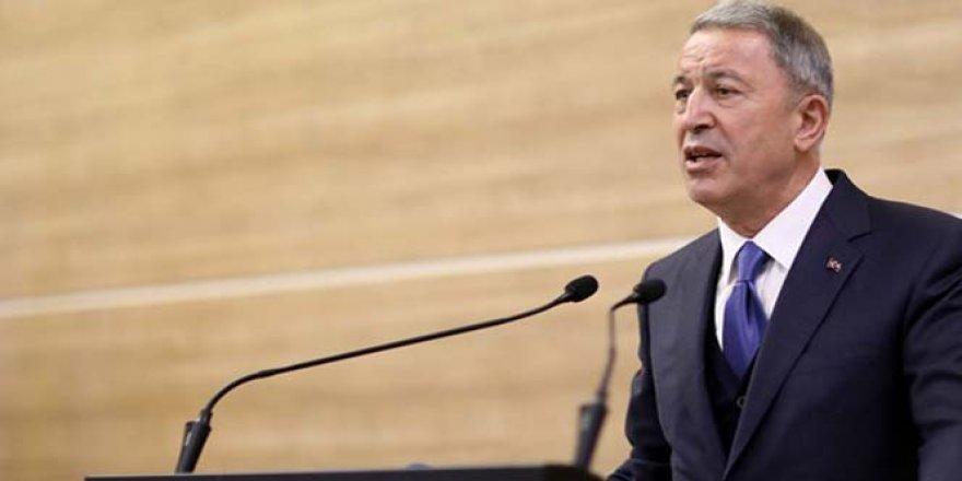 Milli Savunma Bakanı Akar: 'Uluslararası hukuk ve antlaşmalar açıkça ihlal edilmektedir'