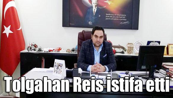 AK Parti Gençlik Kolları Kars İl Başkanı Tolgahan Reis istifa etti