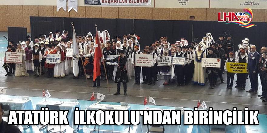 ATATÜRK  İLKOKULU'NDAN BİRİNCİLİK