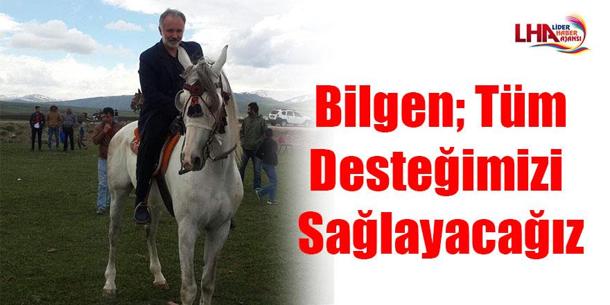 Bilgen; Sadece Kars'ta değil Türkiye'nin her yerinde bu gelenekten haberdar olunmasını sağlayacağız