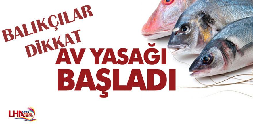 Kars'ta balık avı yasağı başladı