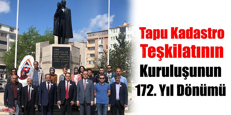 Tapu Kadastro Teşkilatının Kuruluşunun 172. Yıl Dönümü