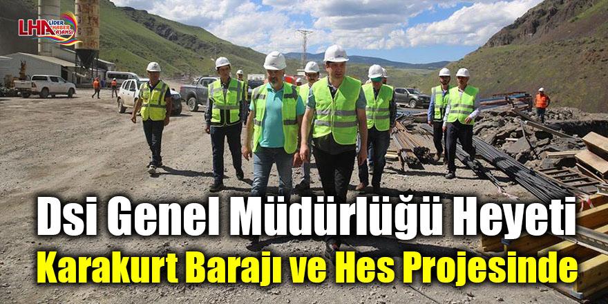 Dsi Genel Müdürlüğü Heyeti Karakurt Barajı ve Hes Projesinde