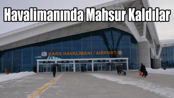 Havalimanında Mahsur Kaldılar