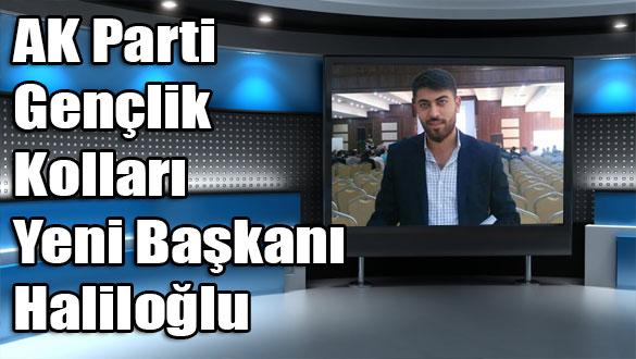 AK Parti Gençlik Kolları Yeni Başkanı Haliloğlu