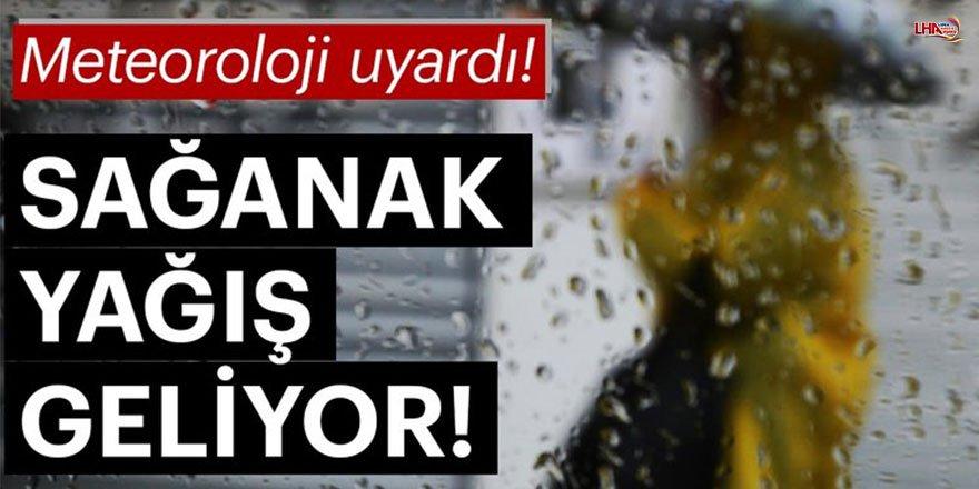 Doğu Anadolu'da 4 İl İçin Sağanak Uyarısı