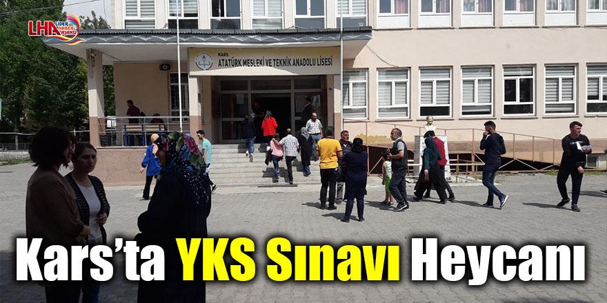 Kars'ta YKS sınavı heycanı