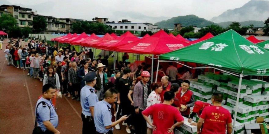 Çin'de deprem: 12 ölü