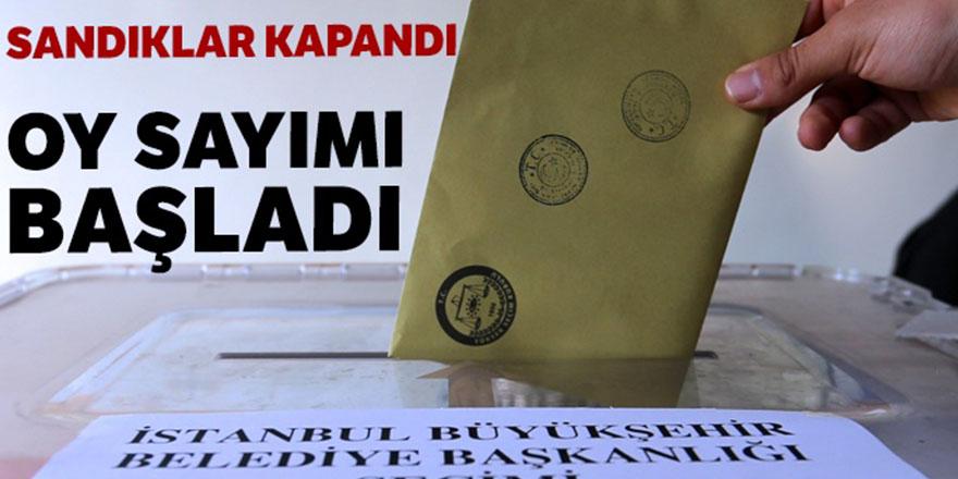 İstanbul'da Sandıklar Kapandı, Oy Sayımı Başladı