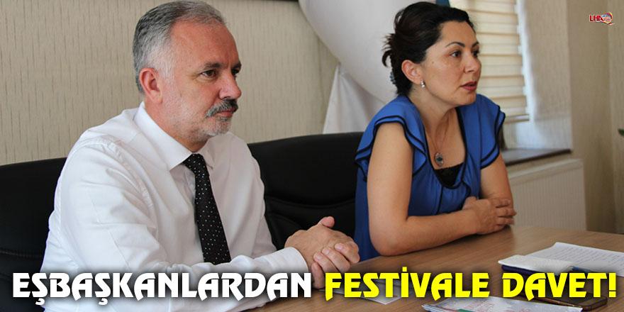 EŞBAŞKANLARDAN FESTİVALE DAVET!
