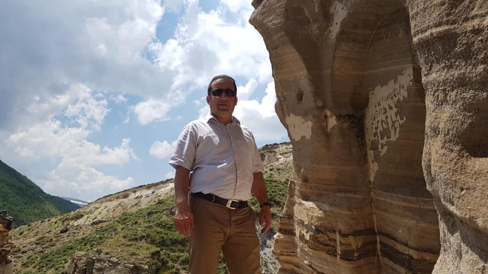 Kaymakam Öter, Ağkeran Mağaralarını İnceledi