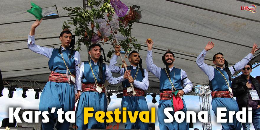 Kars'ta Festival Sona Erdi