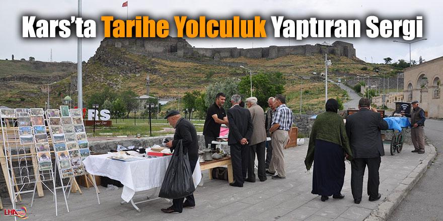 Kars'ta Tarihe Yolculuk Yaptıran Sergi