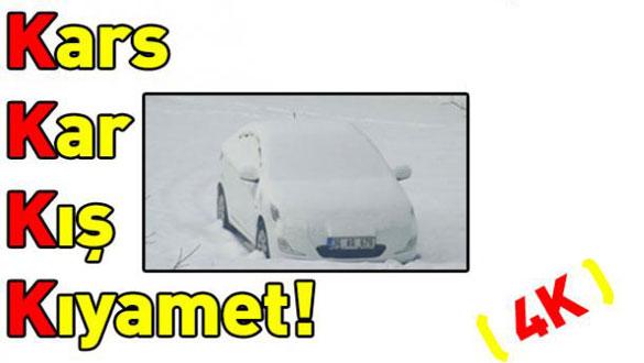 Kars, Kar, Kış, Kıyamet