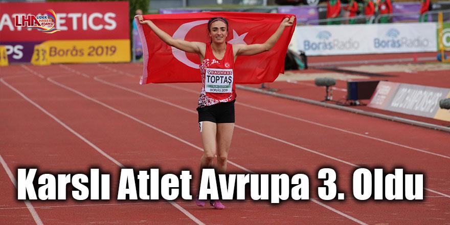 Karslı atlet Avrupa 3. oldu